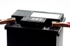 Batteria automobilistica Immagine Stock