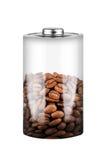Batteria del caffè Fotografia Stock Libera da Diritti