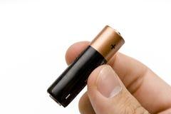 Batteria delle cellule Fotografia Stock
