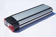 Batteria elettrica della bicicletta Immagini Stock