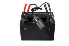Batteria per il motociclo o il motorino Fotografie Stock Libere da Diritti