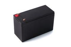 Batteria sigillata di UPS isolata su fondo bianco Fotografia Stock Libera da Diritti