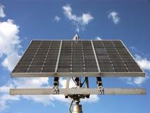 Batteria solare Fotografie Stock Libere da Diritti