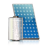 Batteria solare Royalty Illustrazione gratis