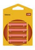 Batterie Fotografia Stock Libera da Diritti