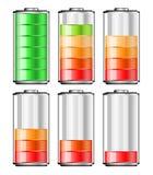 Batterie Lizenzfreies Stockfoto