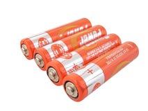 Batterie Fotografia Stock