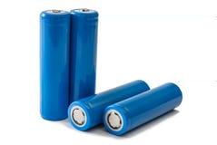 Batterie 18650 Fotografia Stock Libera da Diritti