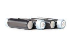 Batterie AA Immagini Stock