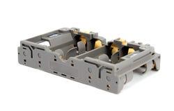 Batterie AA dell'adattatore Fotografie Stock Libere da Diritti