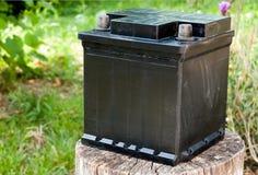 Batterie abandonnée Photographie stock libre de droits