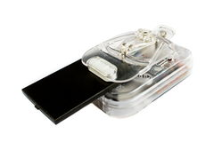 Batterie d'ion de lithium Photos stock