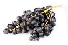Batterie de raisins sur un fond blanc Images stock