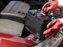 Batterie de voiture Photo libre de droits