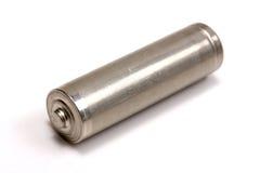 Batterie des Metall AA Lizenzfreie Stockbilder
