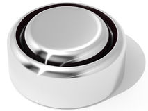 Batterie flach Stockfoto