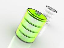 Batterie fraîche Photos libres de droits