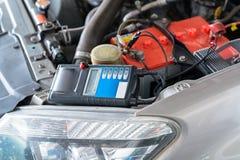 Batterie-Kapazitäts-Prüfvorrichtungs-Voltmeter für Service-Wartung von industriellem stockfotografie