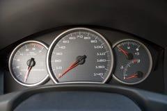 Batterie moderne de jauge de véhicule Image libre de droits