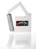 Batterie-Prüfvorrichtung lizenzfreie stockfotografie