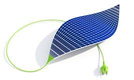 Batterie solaire Photo stock