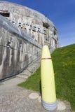 Batterie Todt, Musee du Mur de Atlantique. Cap Gris Nez, Cote d`Opale Area, Pas de Calais Department, Nord-Pas de Calais, France stock image