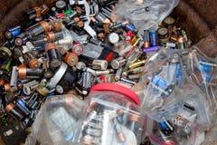 Batteriedump Lizenzfreies Stockfoto