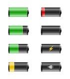 Batterieenergie Stockbild