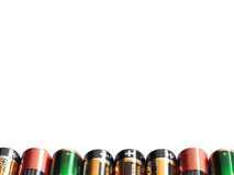 Batteriehintergrund 1 Stockbilder