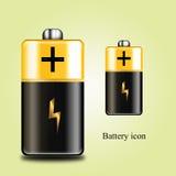 Batterieikone Lizenzfreie Stockbilder