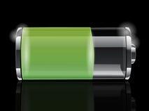 Batterieikone Lizenzfreie Stockfotografie
