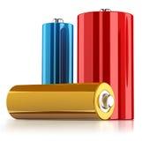 Batterien Lizenzfreie Stockfotos