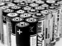 Batterien Stockbild