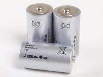 Batterien Stockfotografie