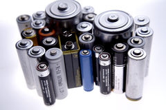 Batterien Stockbilder