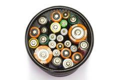 batterien Stockbilder