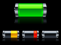 batterier Royaltyfri Bild