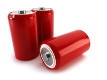 batterier Arkivfoton