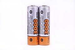 batterier Arkivbilder