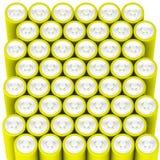 Batterier från över Arkivbilder