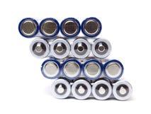 Batteriesätze Stockfoto