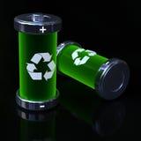 Batteries écologiques Image stock