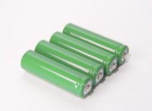 Batteries. Photo of batteries royalty free stock image