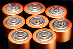 Batteries Photos stock