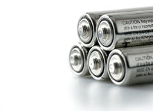 Batteries Photographie stock libre de droits