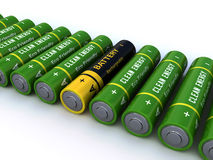 Batteries Stock Images