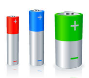 Batteries. Royalty Free Stock Photography