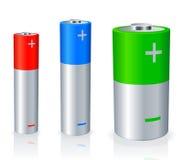 Batteries. Photographie stock libre de droits