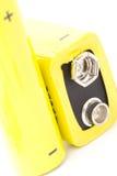 Batteries Photographie stock libre de droits