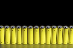 Batteries Stock Image
